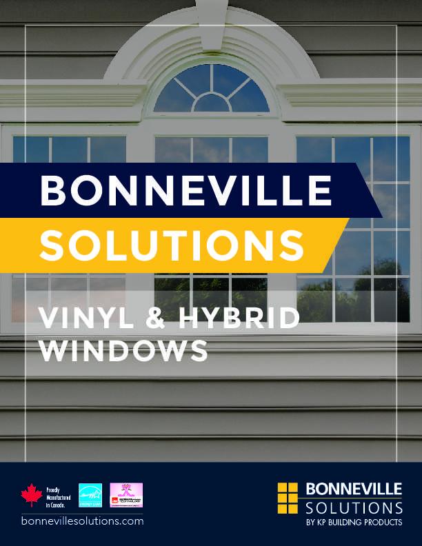Vinyl and Hybrid windows brochure