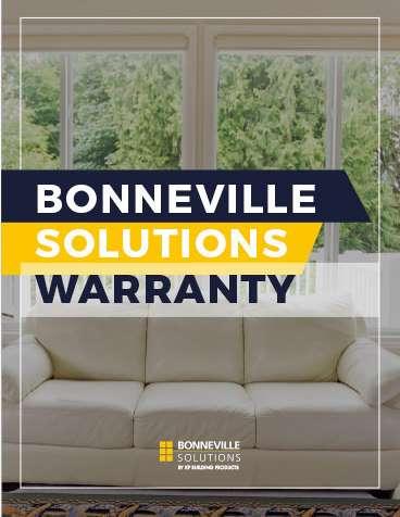 Bonneville Solutions Warranty
