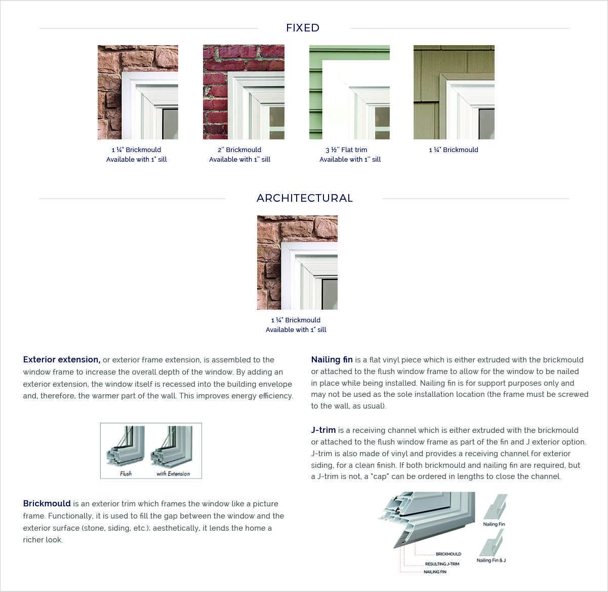 exterior options