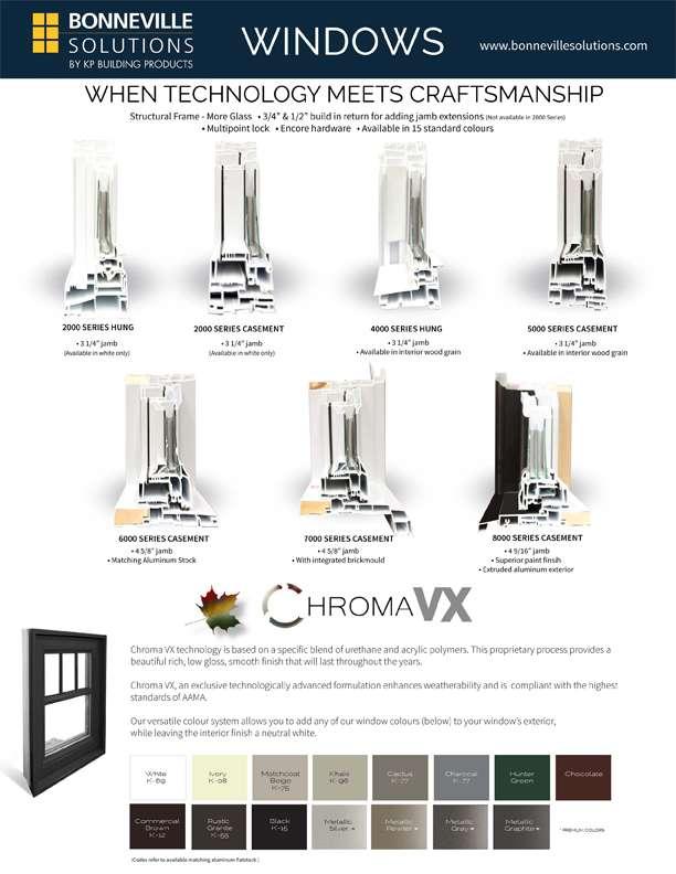 Bonneville windows and chromavx flyer