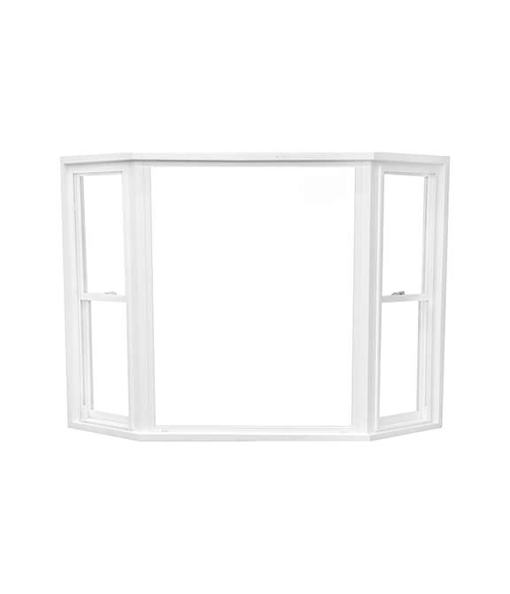 White Vinyl Bay & Bow Window