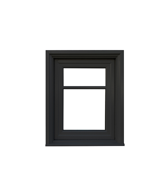 Closed Alumhybrid Casement Window