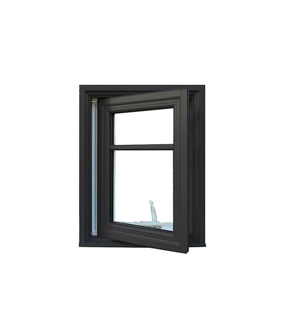 Open Alumhybrid Casement Window